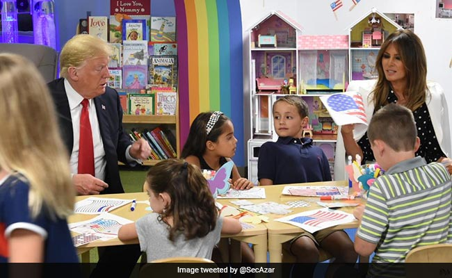 Twitter Trolls Donald Trump For Colouring The American