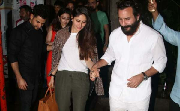 Image result for Pics From Kareena Kapoor-Saif Ali Khan's Double Date With Soha-Kunal