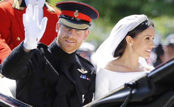 prince harry meghan markle royal carriage afp