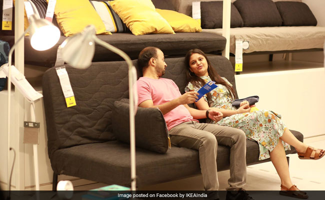 sofa set below 3000 in hyderabad fixing dubai ikea store launch highlights gets 1st india here s all you need to
