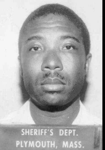 Charles Taylor as an inmate at the Plymouth CountyHouse of Correction in 1984.