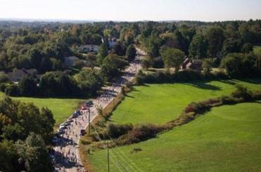 New Hampshire's Applefest Half Marathon, this year on October 5, ends with a treat: apple crisp.