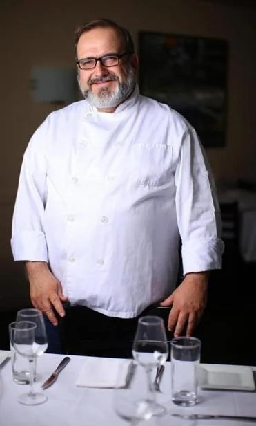 Chef-owner Charles Draghi at Erbaluce in Boston.