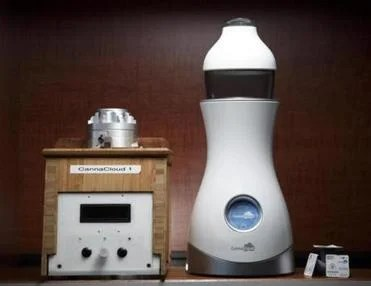 A prototype of the CannaKorp marijuana vaporizer.