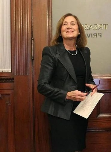 State Treasurer Deborah B. Goldberg. Suzanne Kreiter/Globe staff