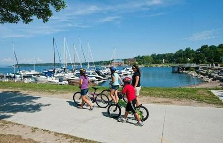 Lake Champlain's Island Line Trail: One of Top 5 Great Rail Trails in New England