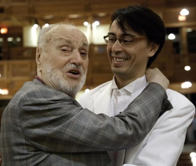 Kurt Masur And His Son Ken David Masur A Tanglewood Conducting Fellow Will