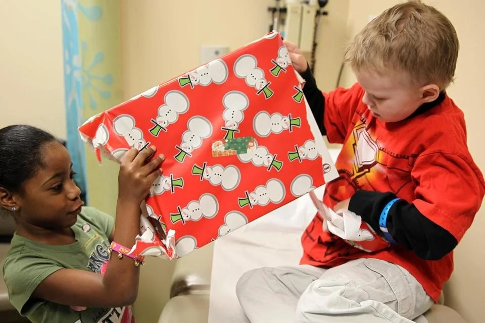 Young girl brings Christmas cheer to kids  The Boston Globe