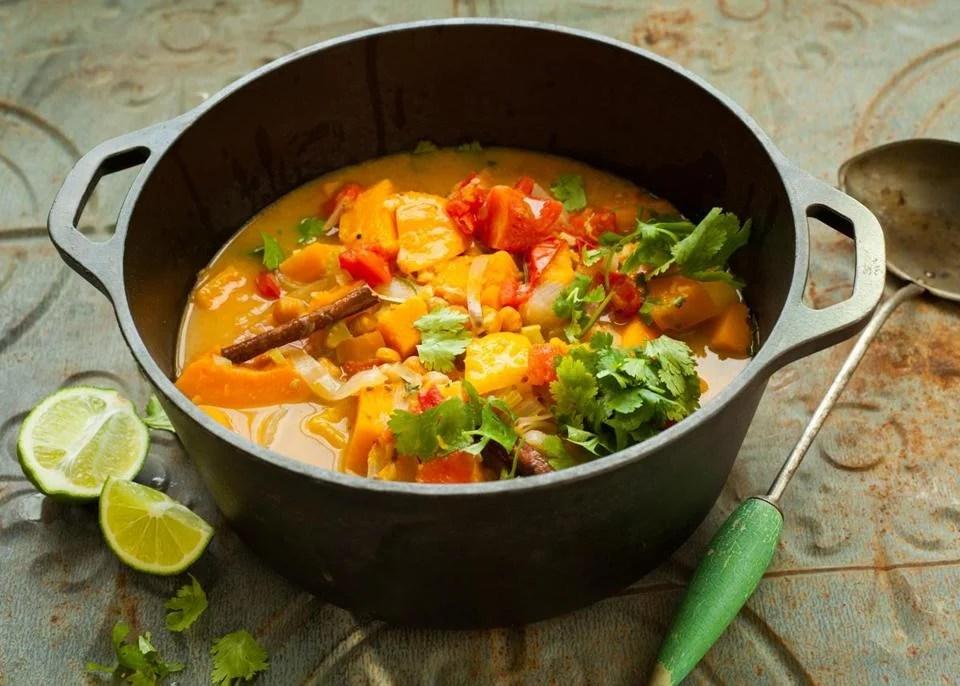 Butternut Chickpea Stew