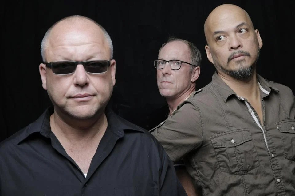 From left: Black Francis, David Lovering, and Joey Santiago.