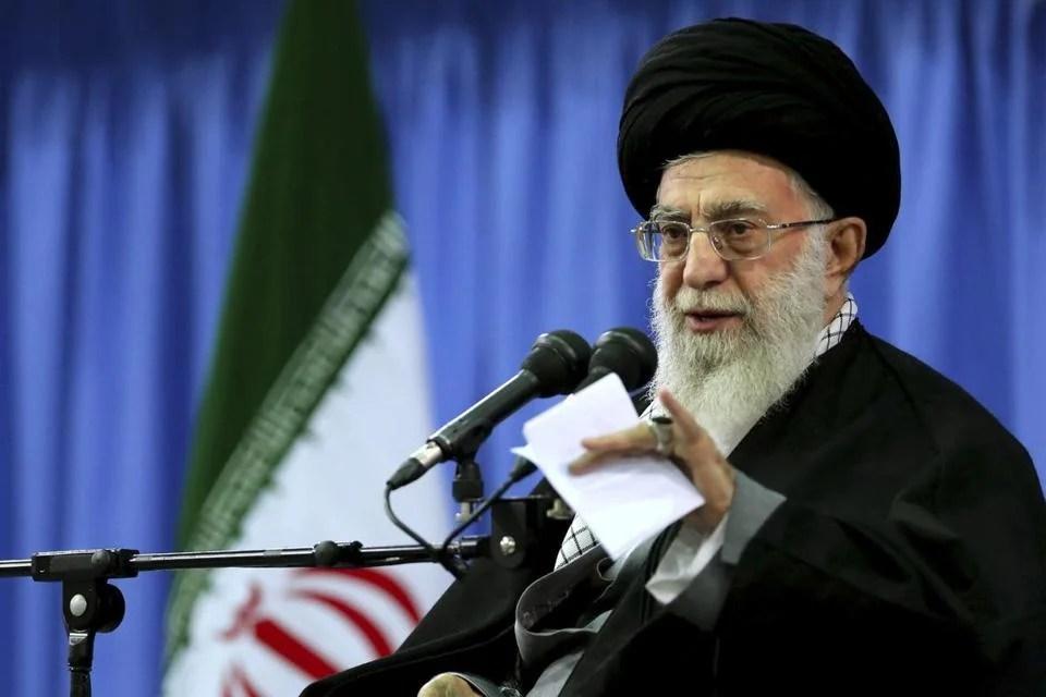 Supreme Leader Ayatollah Ali Khamenei spoke in a gathering of senior officials of Basij paramilitary force in Tehran, Iran, on Nov. 27.