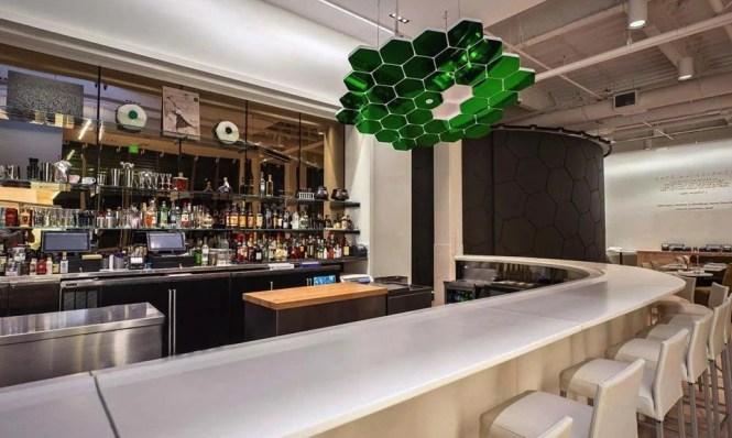 Cafe Ruelle Inside Our Bar