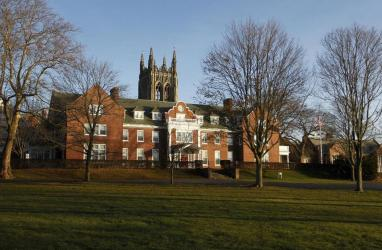A look at the St. George's School campus in Middletown, R.I.