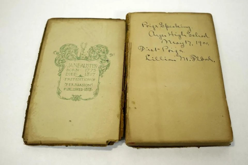 Teacher seeks to solve mystery of 200yearold Jane Austen book mailed to high school  The