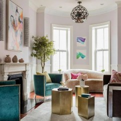 Living Room Boston How To Decorate Your Small For Christmas Redesigning A Long Narrow In The South End