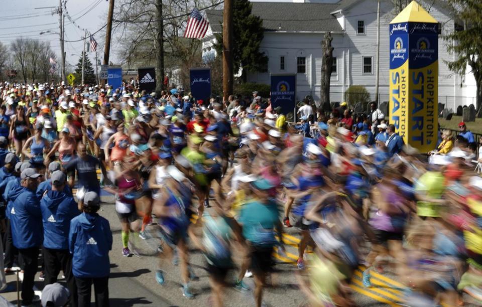 Fresh Foam Marathon De Boston 2017 M