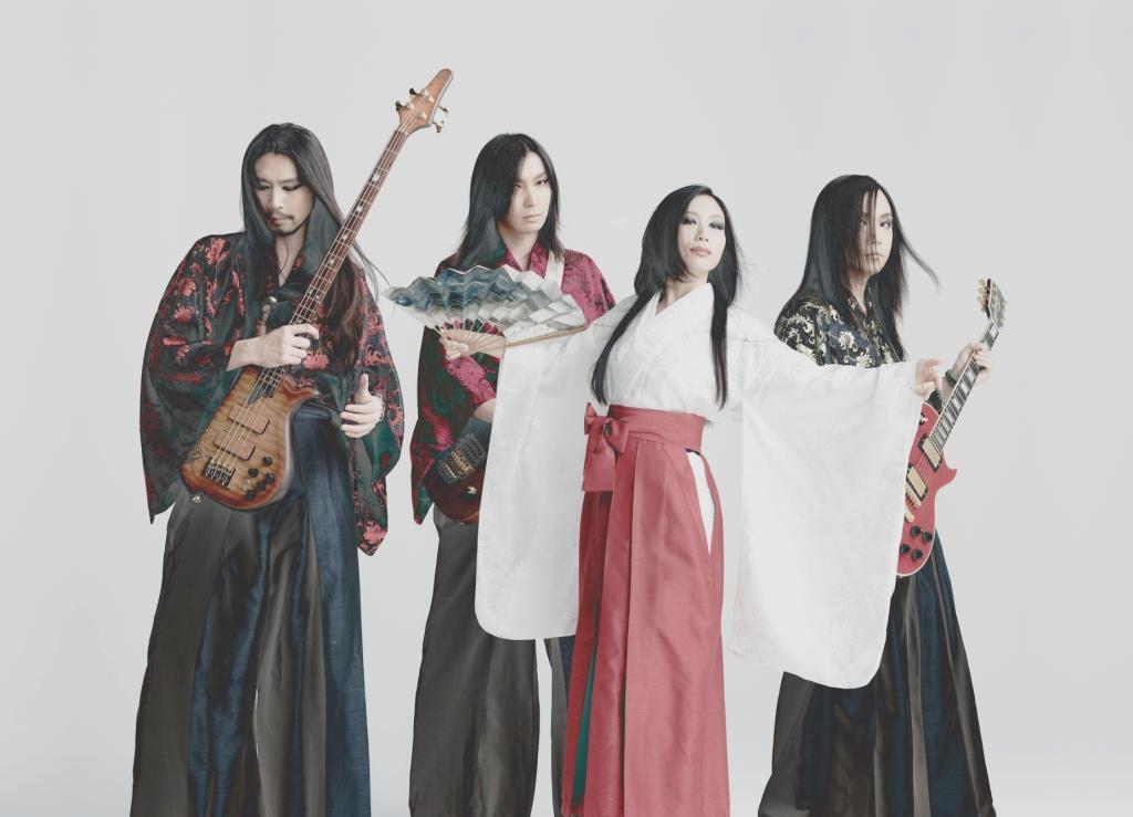 陰陽座,約3年ぶりのシングル「青天の三日月」がdwangoにて獨占先行配信スタート!   OKMusic