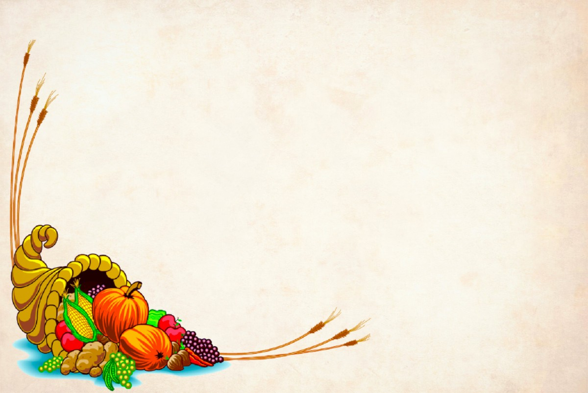 Fall Pc Wallpaper Free Images Paper Card Cornucopia Harvest