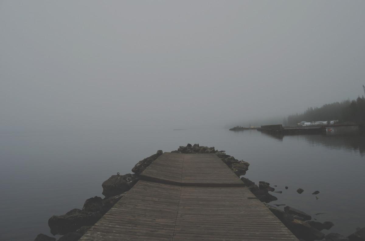 Summer Quotes Wallpaper Free Images Sea Ocean Horizon Fog Sunrise Mist