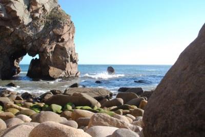 Free Images : coast, ocean, formation, diving, cliff, swim ...