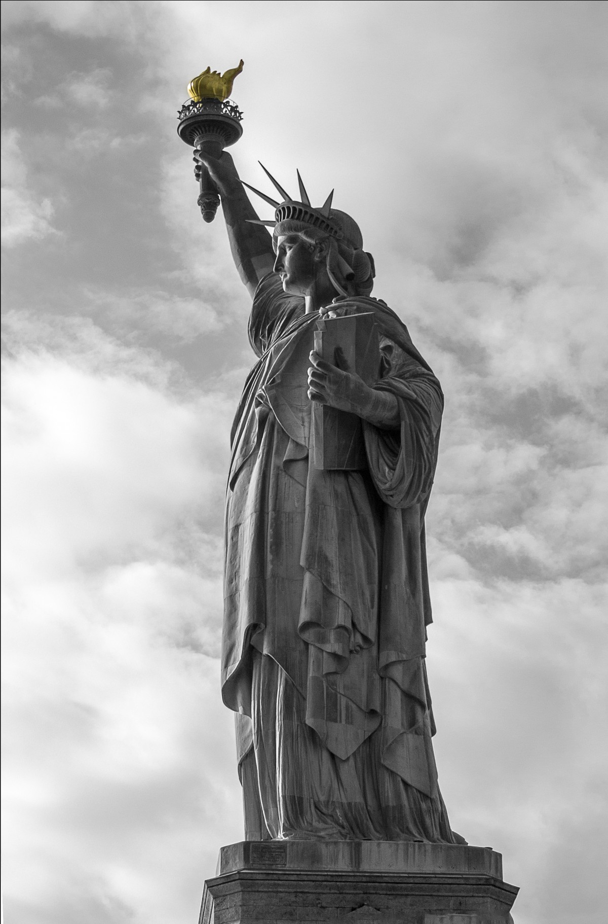 Immagini Belle Bianco E Nero New York Monumento