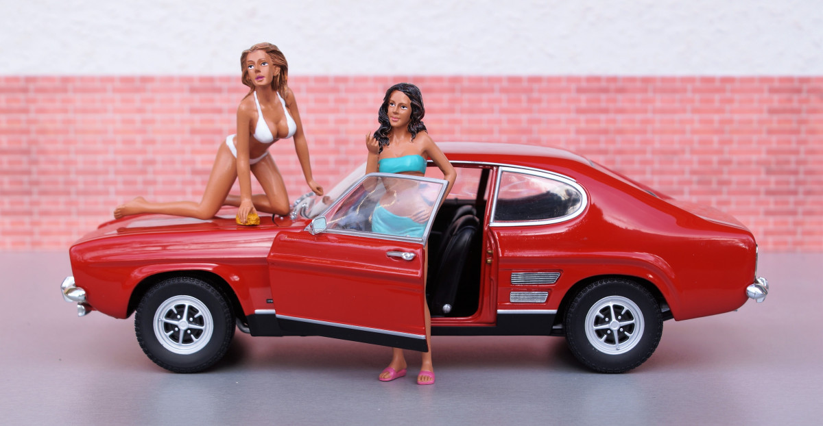 Free Images  old red auto toy bikini sports car