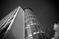 Free Images : skyscraper, line, metal, monochrome, spiral ...