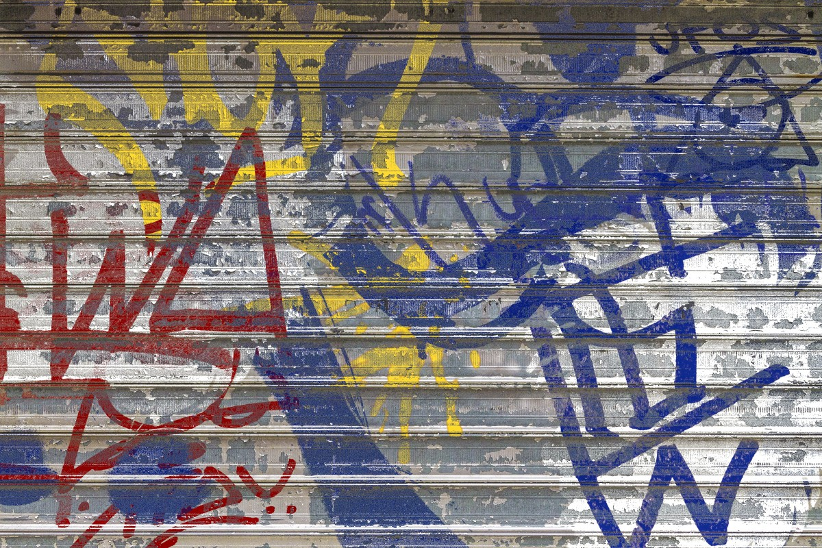 Free Images  abstract texture wall facade blue