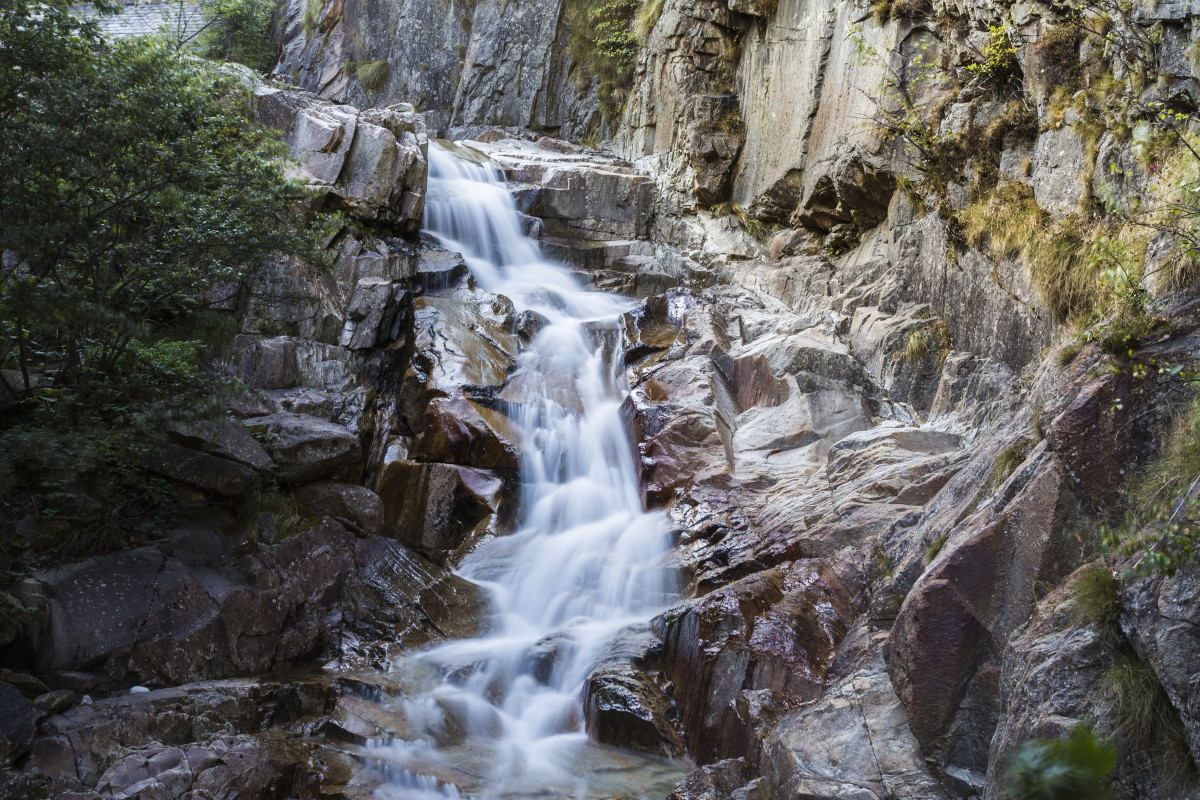 Free Images  nature forest rock waterfall wilderness
