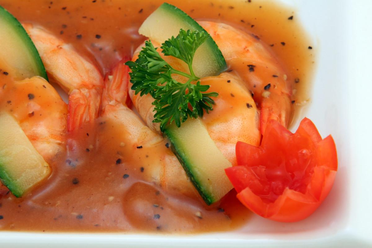 Immagini Belle  piatto frutti di mare ricetta cucina pasta gamberetto cibo thailandese