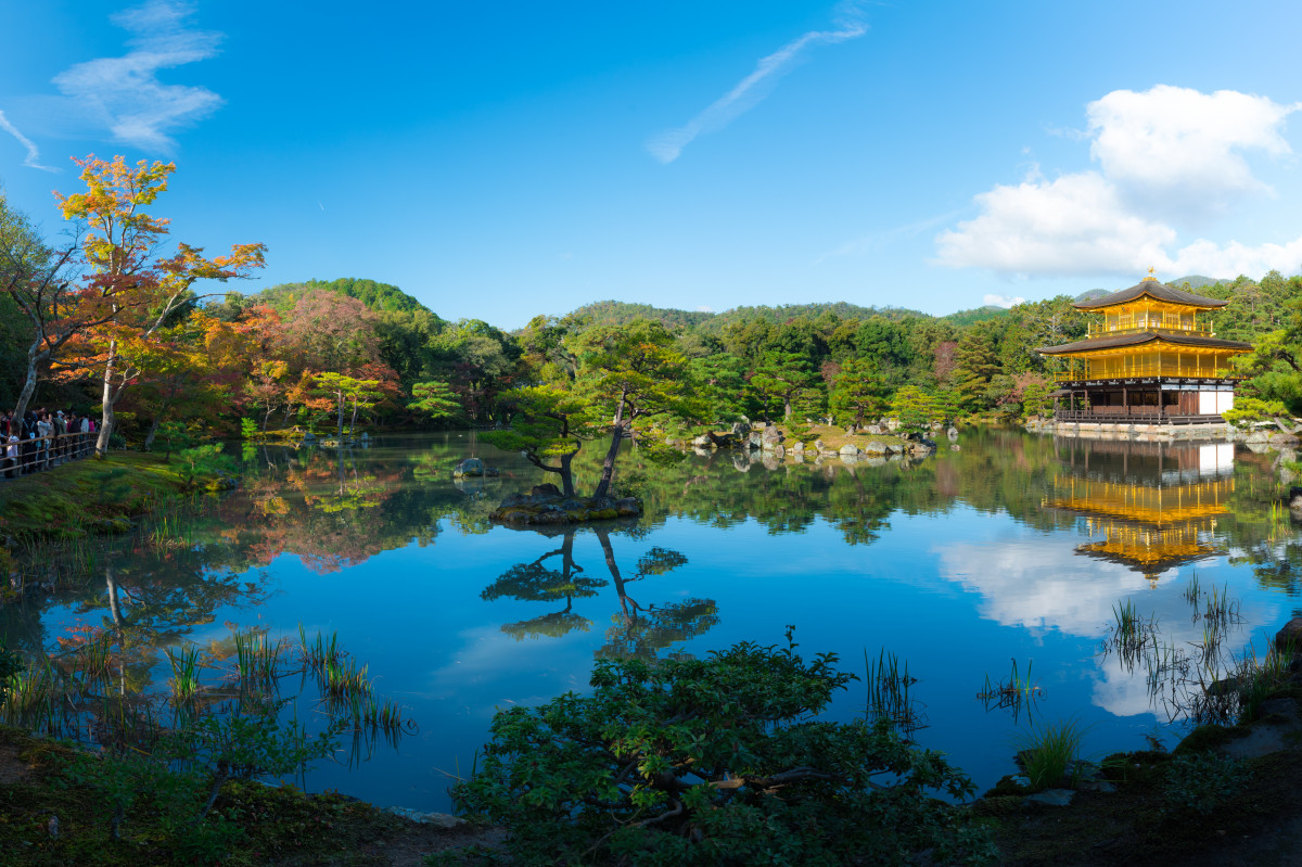 Fall Lake Wallpaper Free Images Palace Pond Swimming Pool Ancient