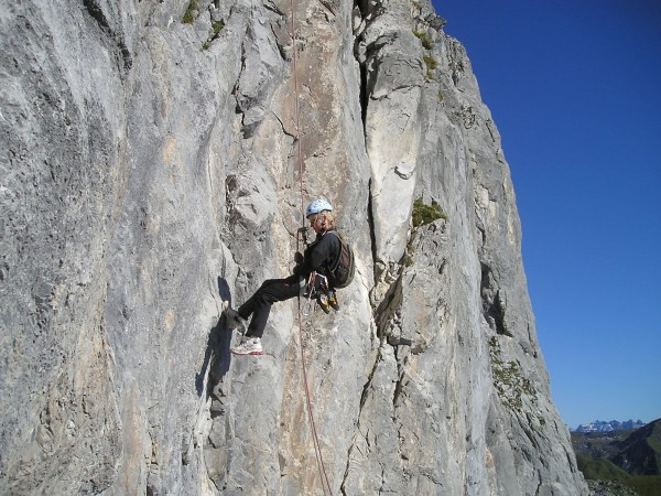 Extreme Rock Climbing Mountain