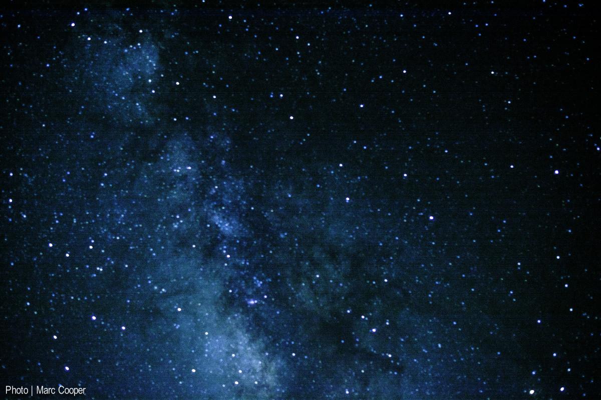 Gambar  langit bintang suasana ruang galaksi nebula