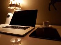 Free Images : laptop, desk, computer, macbook, table ...