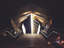 Free Light Architecture Villa Auditorium