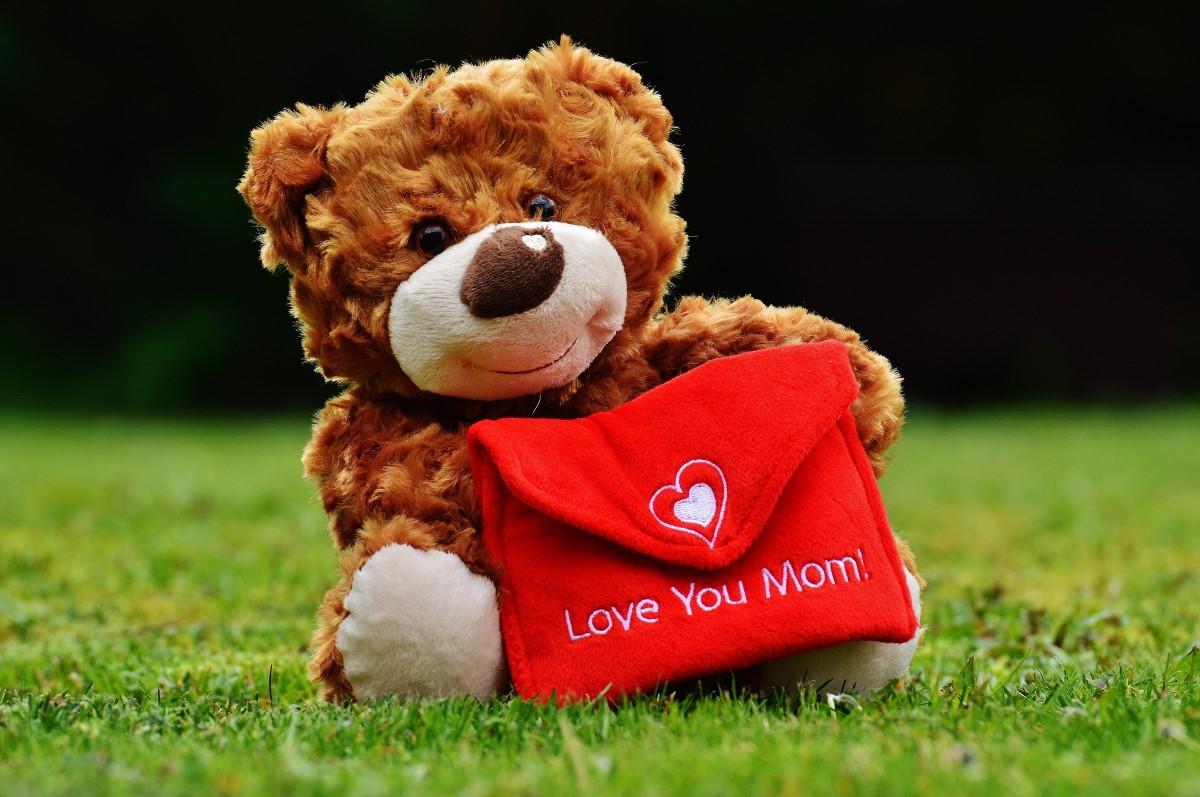 รูปภาพ หัวใจ เด็ก ขอขอบคุณ หมีเท็ดดี้ พื้นหลัง