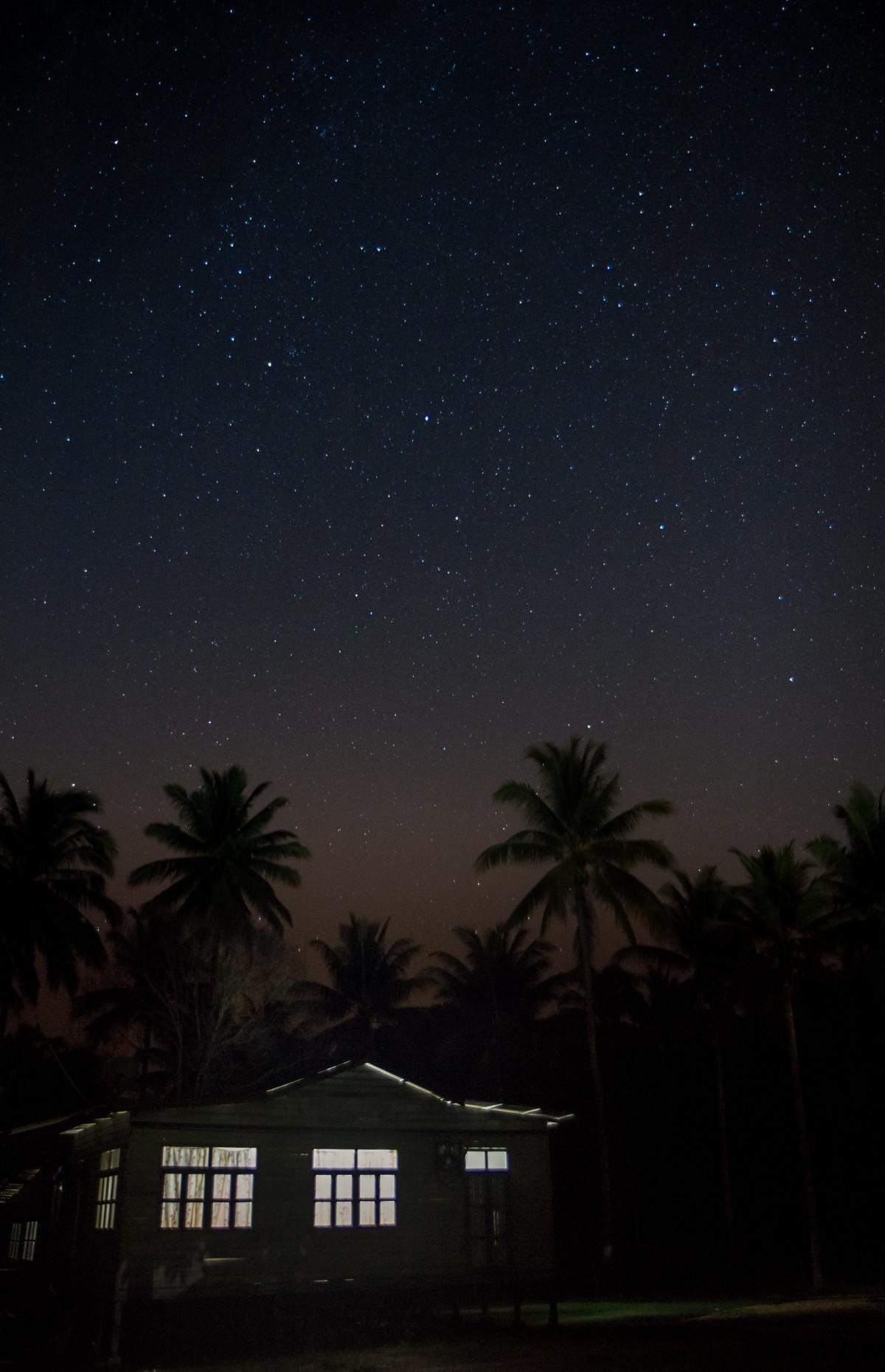 Gambar  pemandangan langit Bima Sakti kosmos suasana