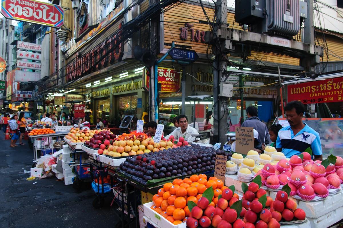 Gambar  bunga kota penjaja menghasilkan pasar nikon