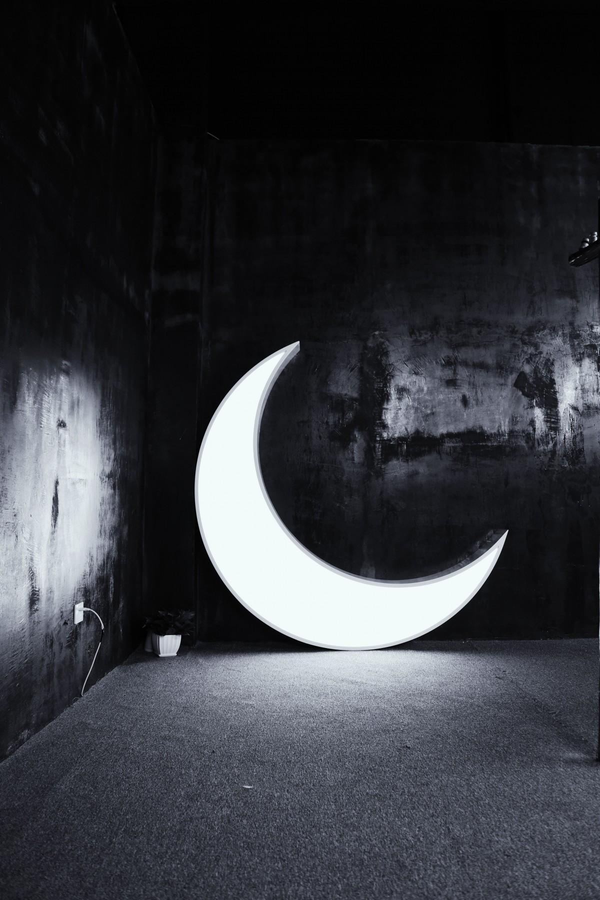 Fotos gratis  ligero en blanco y negro noche