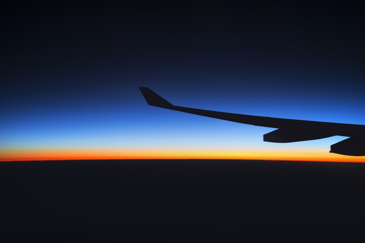 Free Images Horizon Silhouette Wing Light Sky