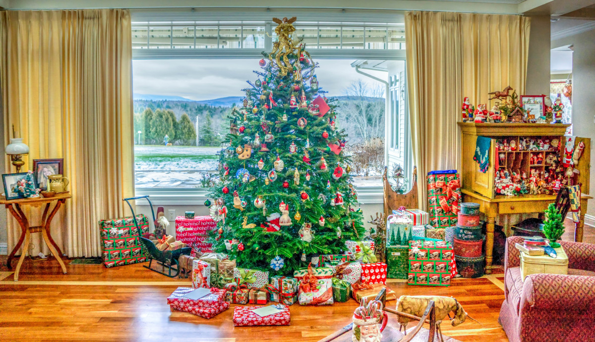 Free Images Indoor Holiday Christmas Tree Interior