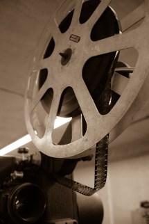 Old Movie Projector Cartoon