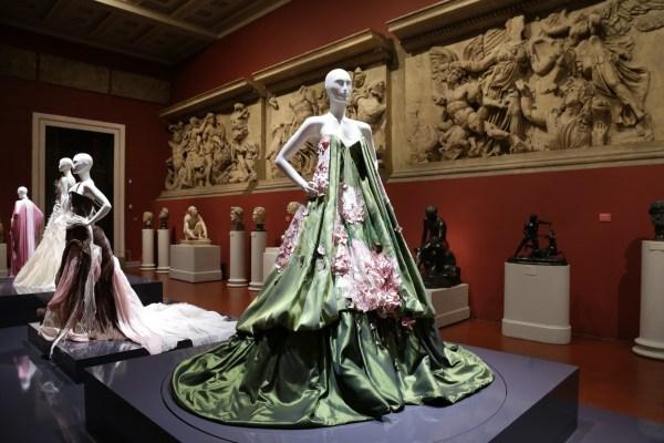 Museum Clothing Display