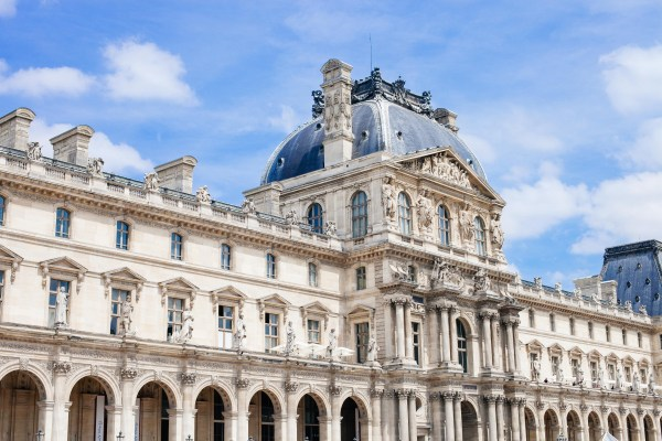 Free Wing Building Palace Paris Monument