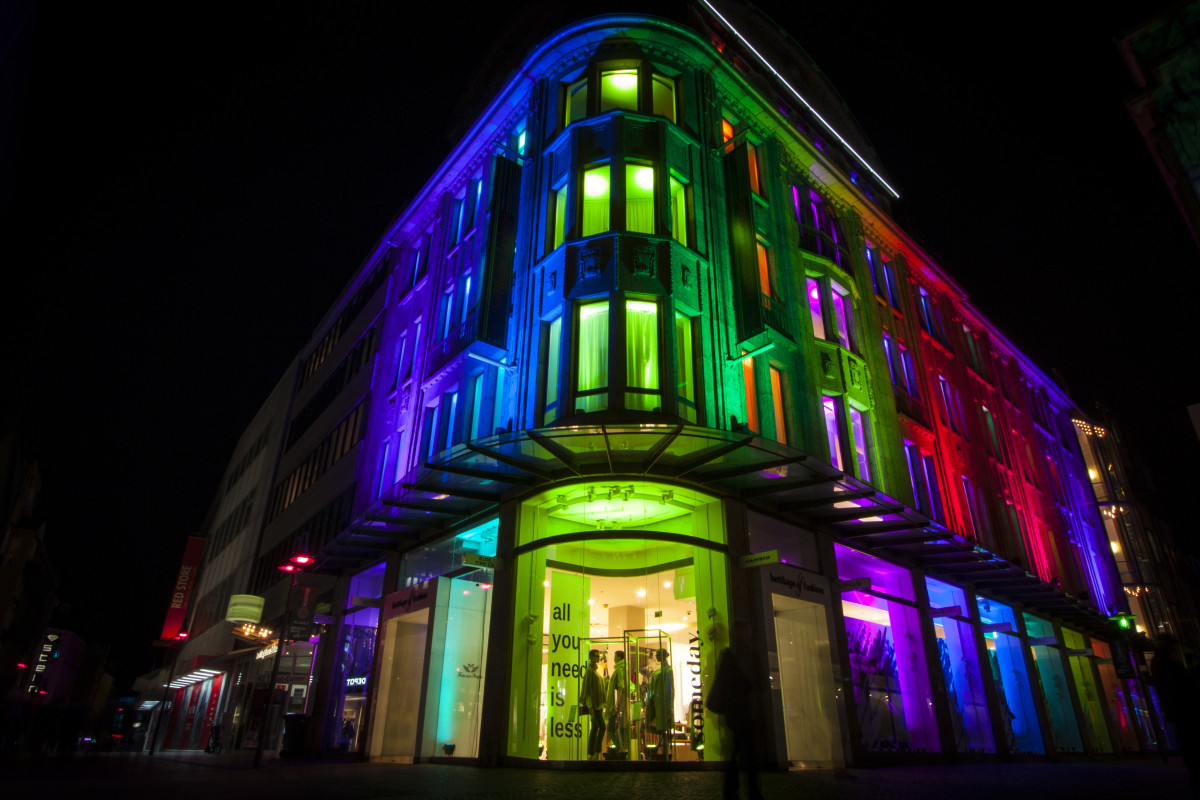 Free Images Light Night Building Evening Color
