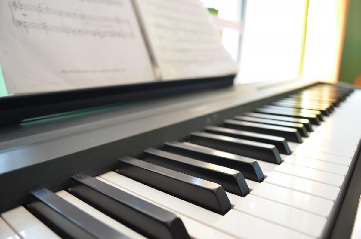 Gambar  Keyboard teknologi refleksi alat musik lembar