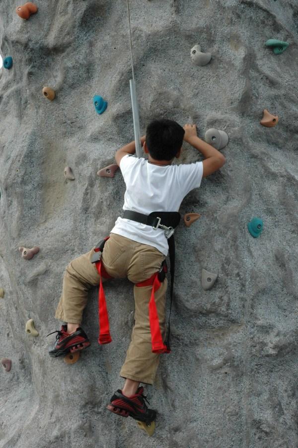 Extreme Rock Climbing Wall
