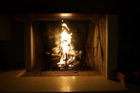 Free Images : winter, light, night, flame, fire, fireplace ...