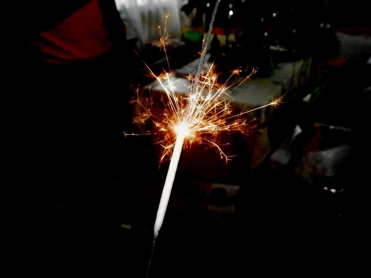 Fire Wallpaper Hd Free Images Light Flower Dark Sparkler Spark