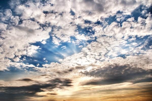 Sky Clouds Landscape